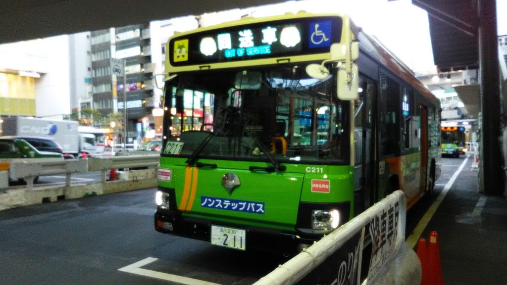 フルカラーLED都営バス1