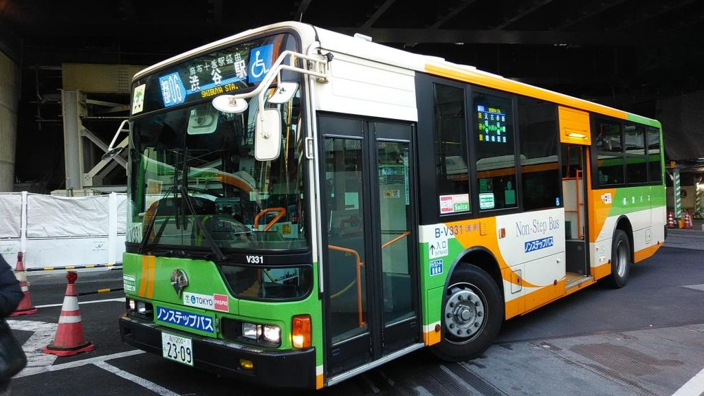 フルカラーLED都営バス4