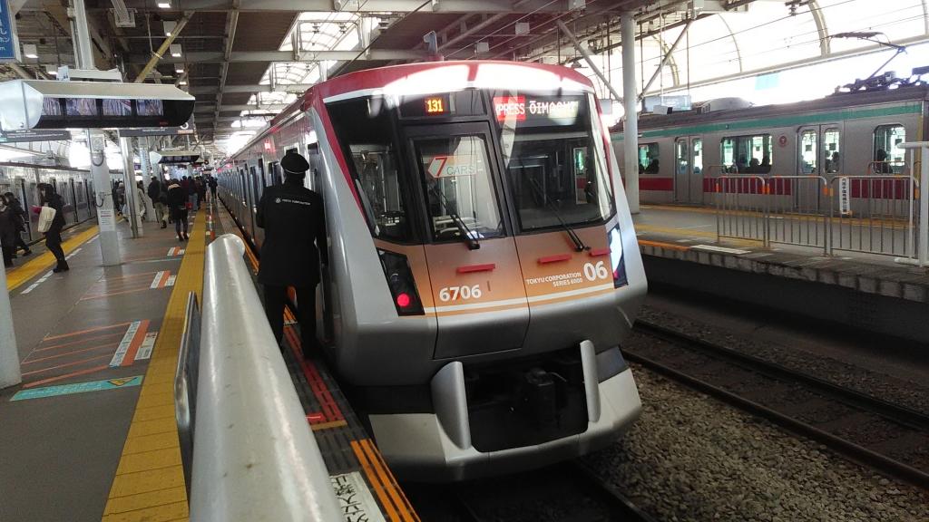大井町線7両急行