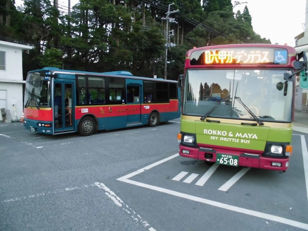 六甲山上バス3