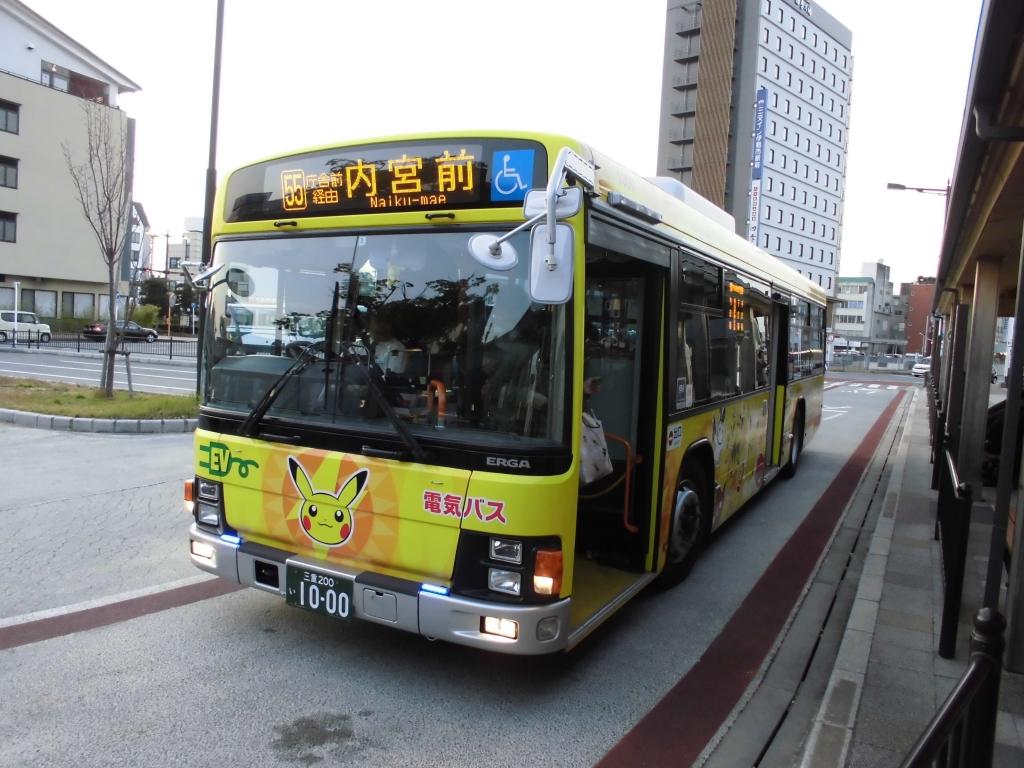 三重交通ポケモンバス1