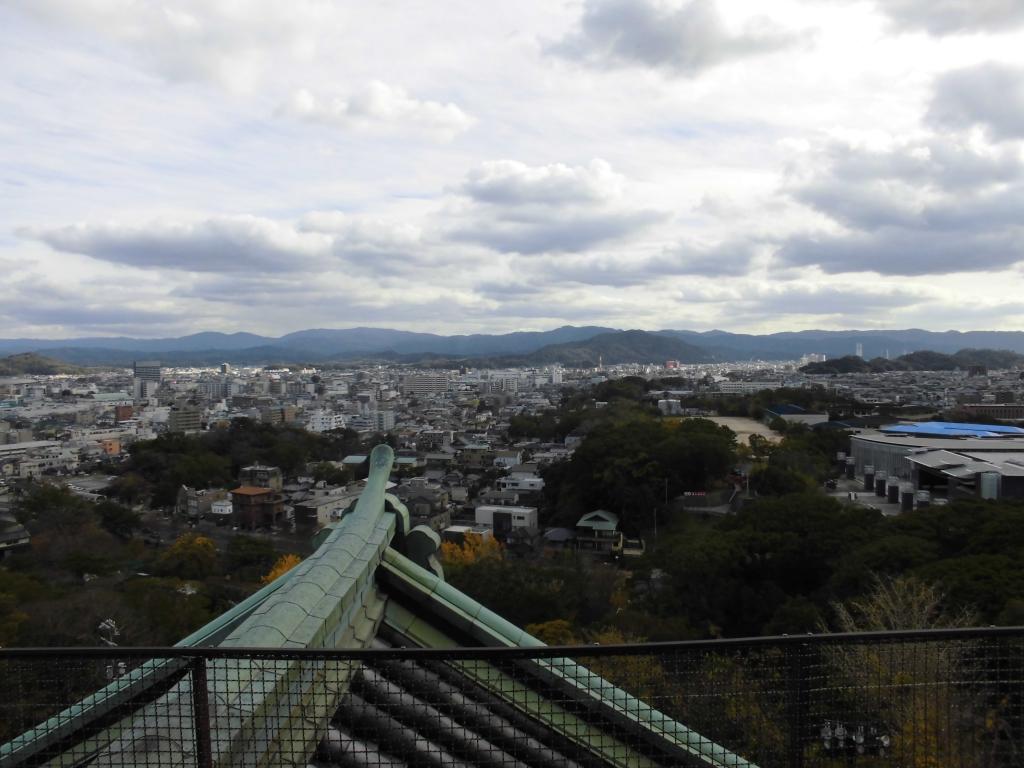 和歌山城からの眺め2