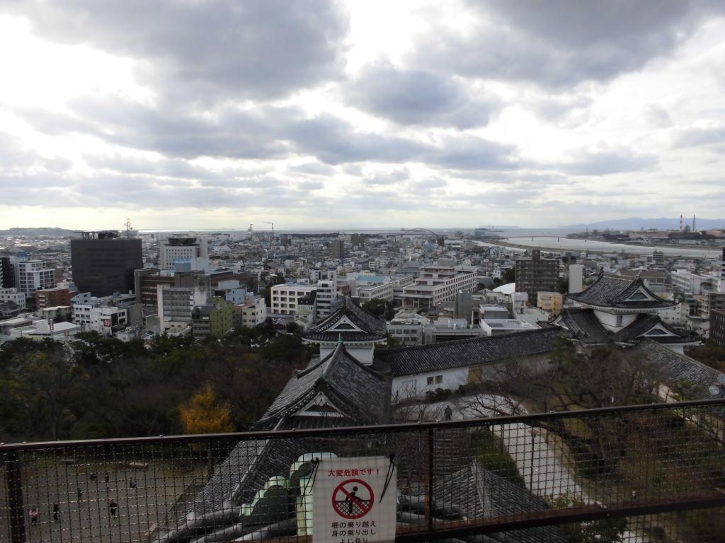 和歌山城からの眺め4