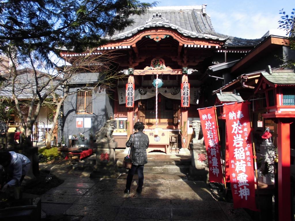 お岩稲荷陽雲寺1