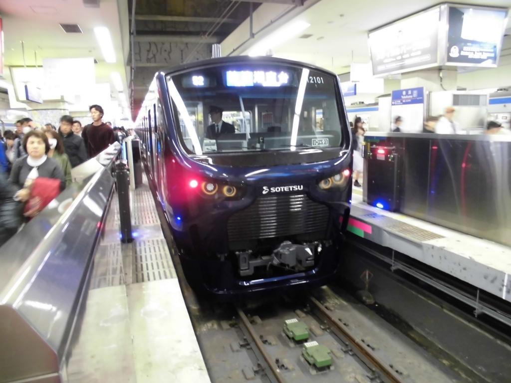 埼京線直通相鉄電車