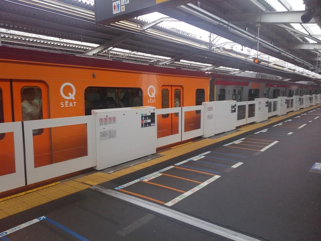 大井町線6000系Qシート3