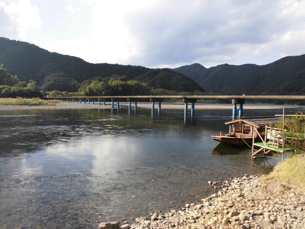 四万十川・佐田沈下橋1