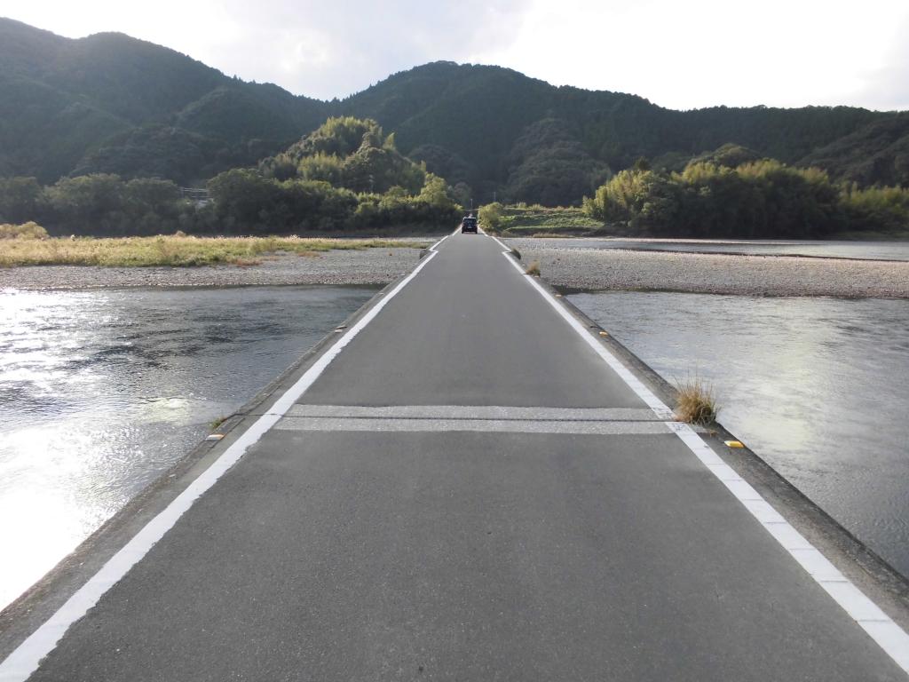 四万十川・佐田沈下橋2