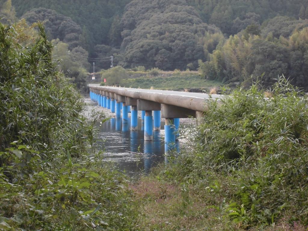 四万十川・佐田沈下橋3