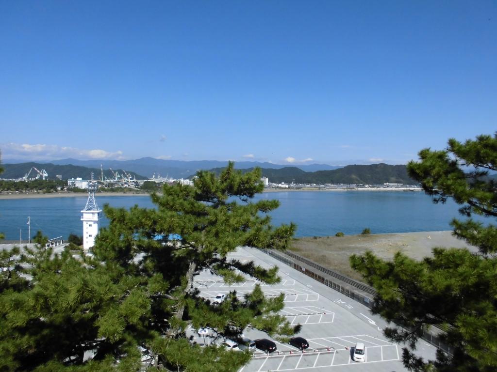 坂本龍馬像からの眺め1