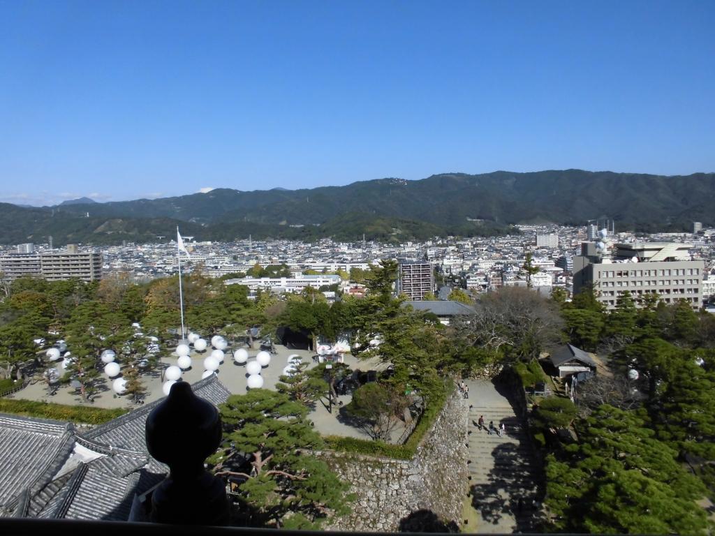 高知城からの眺め1