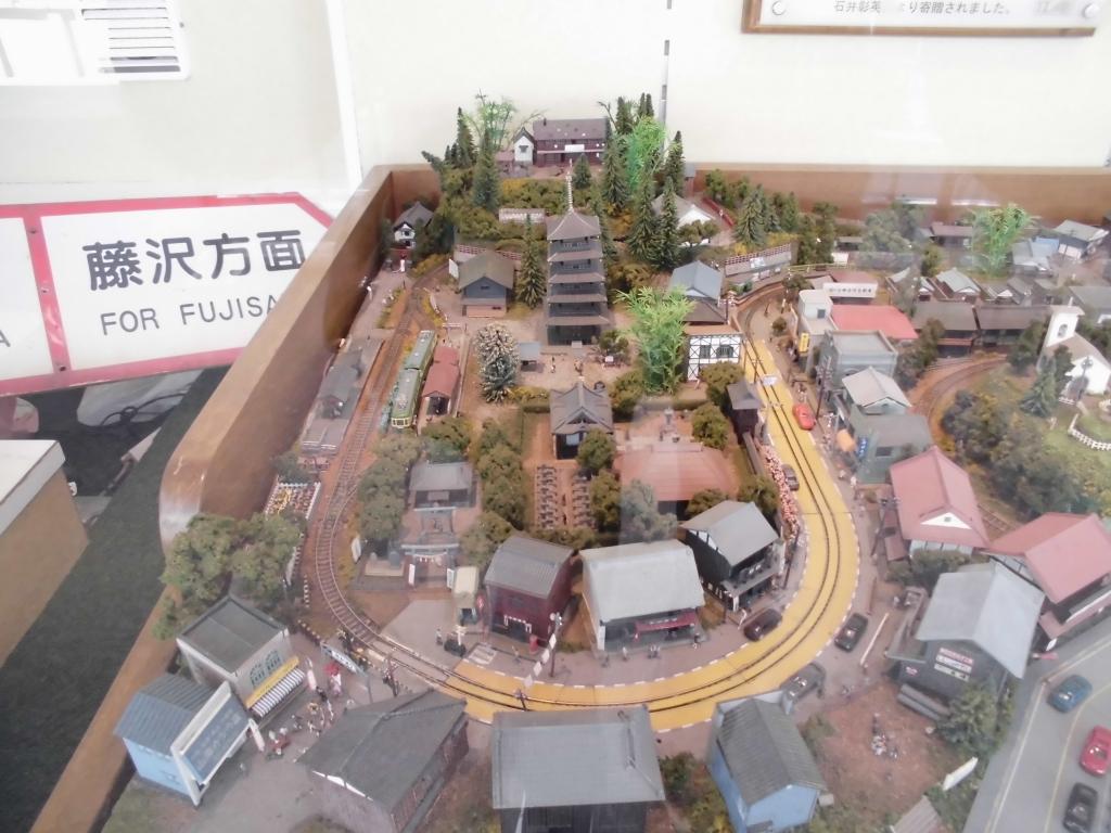 江ノ島駅のジオラマ3
