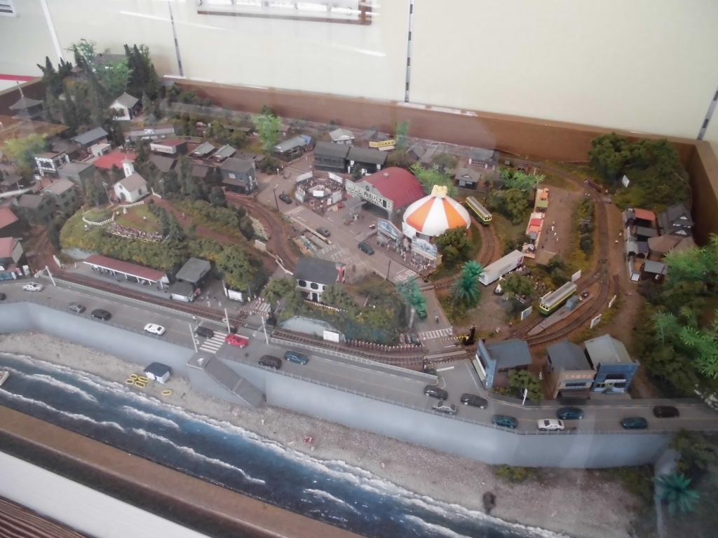 江ノ島駅のジオラマ4