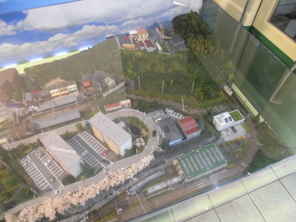 江ノ島駅のジオラマ6