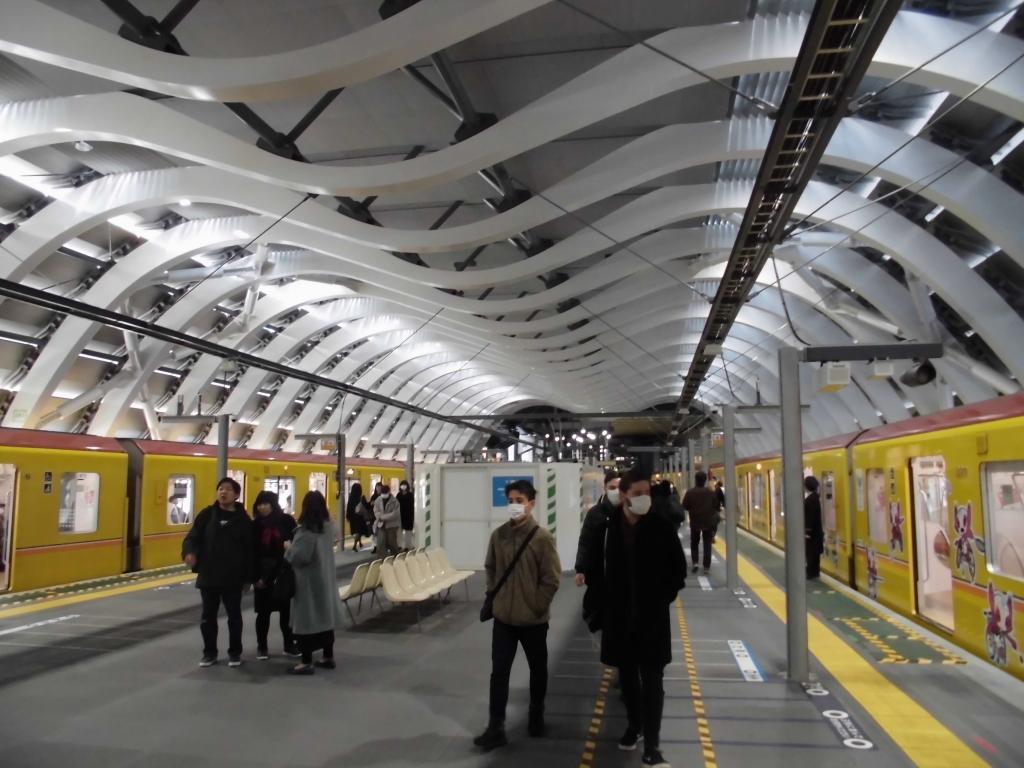 新生銀座線渋谷駅1