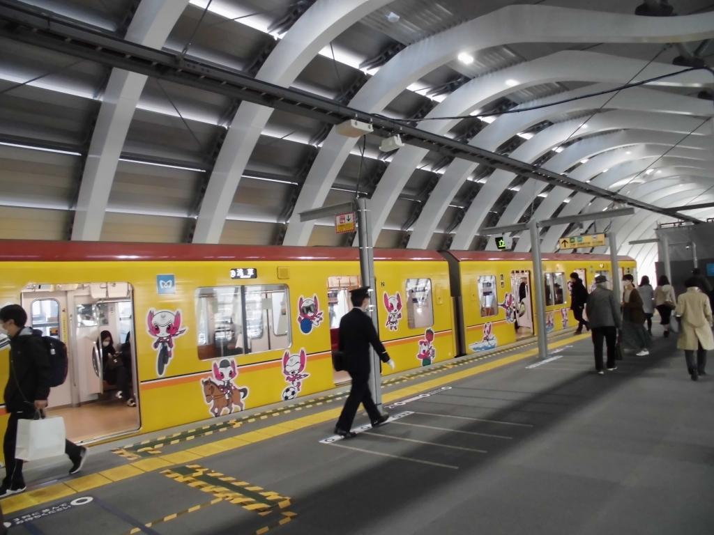 新生銀座線渋谷駅2