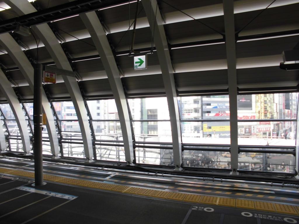 新生銀座線渋谷駅3