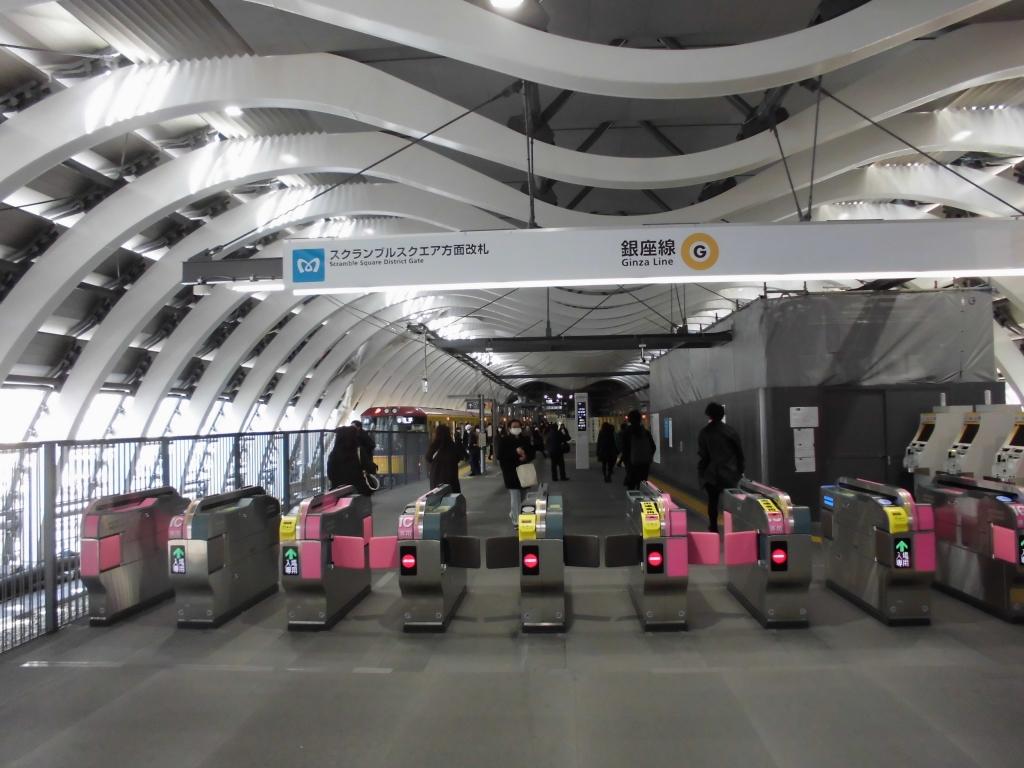 新生銀座線渋谷駅4