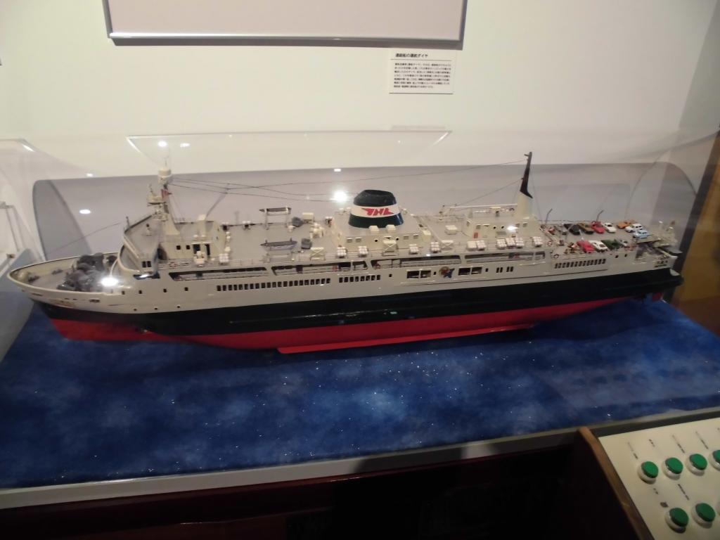 青函連絡船の模型