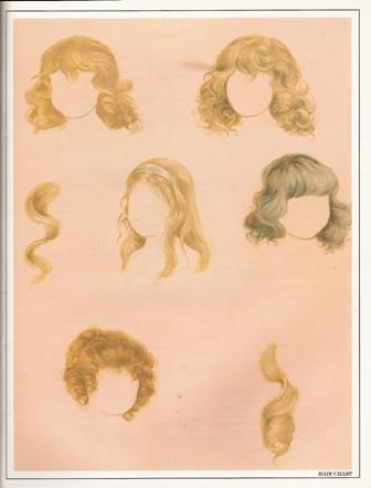 髪の毛の画像