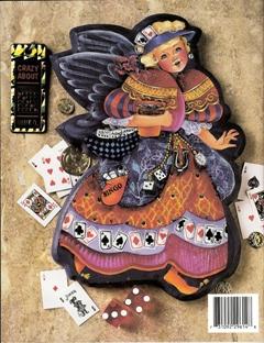 デーレン・ラングさん天使の画の裏表紙
