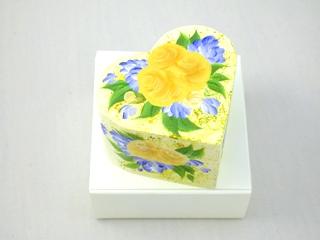 可愛いハートの形のジュエリーボックス