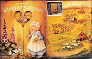 ヘレン・バリックさんのwhippersnappers Vol.11の表紙