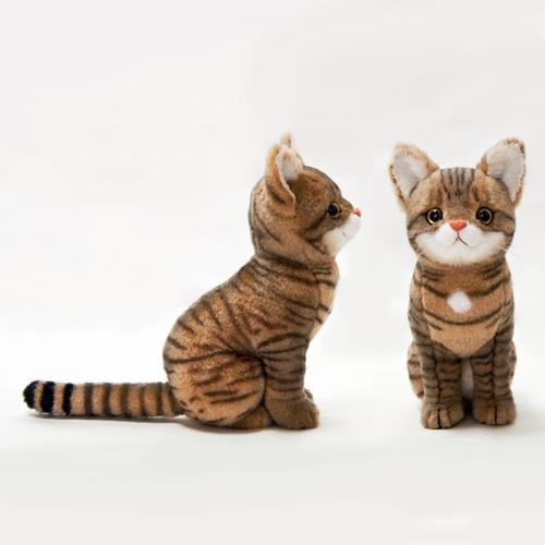 愛猫の分身 愛猫似のぬいぐるみ キジトラ