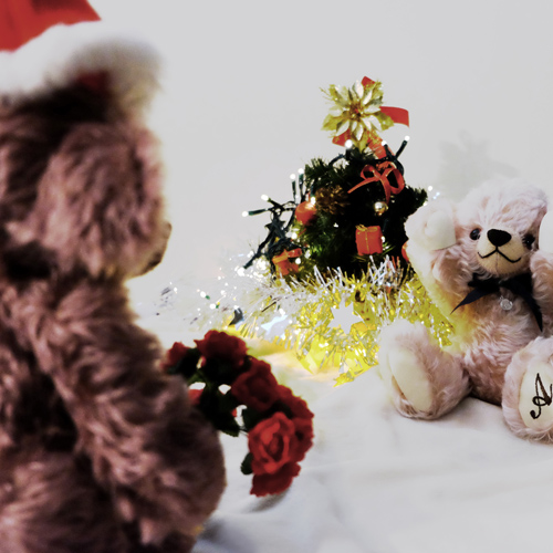 テディベアサンタ クリスマス