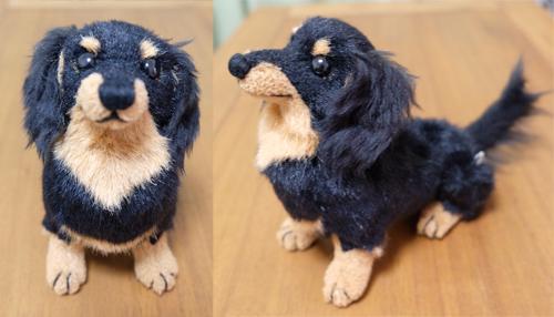 フムフムベアストック 犬のぬいぐるみ