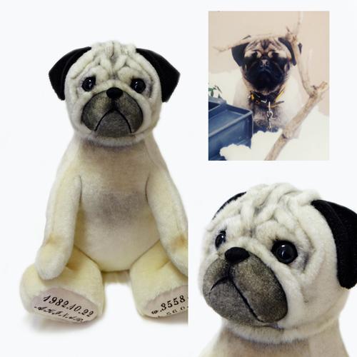 パグのウェイトドール 愛犬のウェイトドッグ ウエイトドッグ