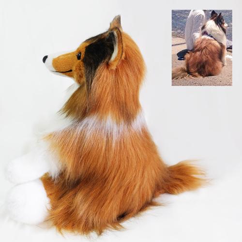 ペットロス 愛犬似 愛犬シェルティーのウエイトドール