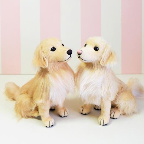 愛犬似 ゴールデンのぬいぐるみ ウェルカムドール