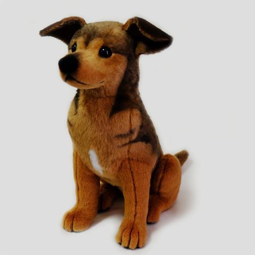 愛犬似のぬいぐるみ ピンシャーミックス