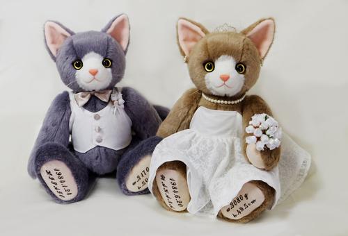 可愛い ウェイトキャット 猫のウェイトドール