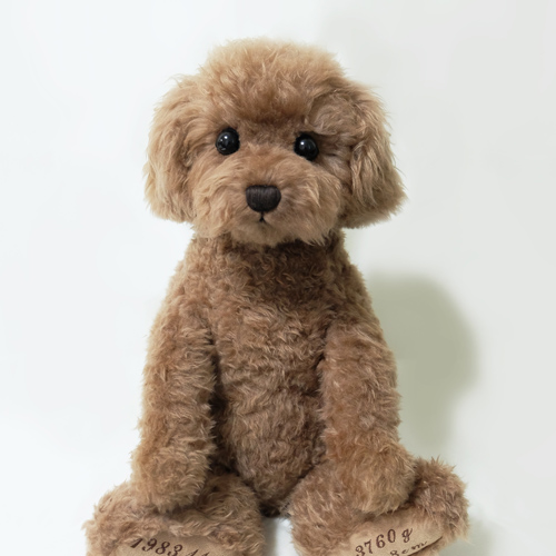 愛犬に似たウェイトドール トイプードル ブラウン