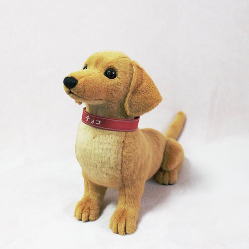 オーダーぬいぐるみ 愛犬ダックス 記念品