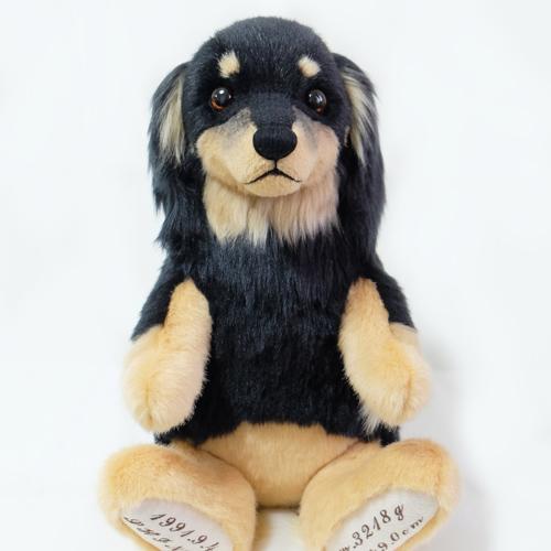 ブラタン ダックスのウエイトドール 愛犬そっくり オーダー