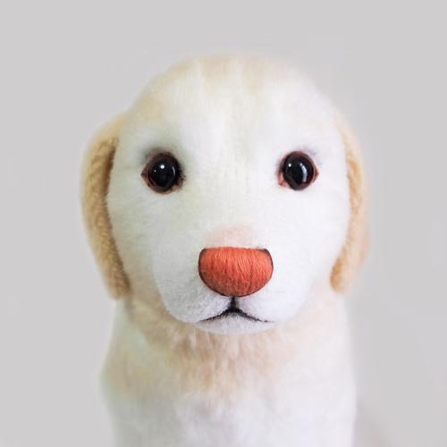 可愛い ラブラドールレトリバー ぬいぐるみ 愛犬