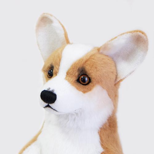 愛犬のぬいぐるみ コーギーのウェイトドッグ ぬいぐるみ制作