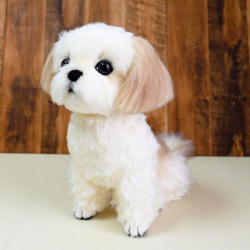 愛犬の代わりに シーズーのぬいぐるみ 愛犬そっくり