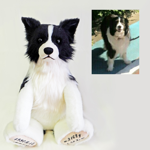 ボーダーコリー ウェディンググッズ 愛犬のウェイトドール