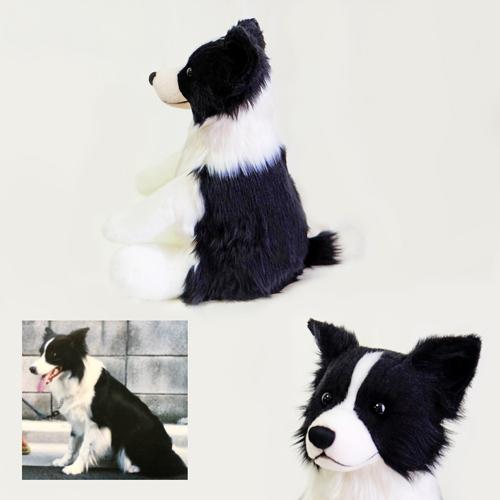 ボーダーコリーのウェイトドッグ 両親へのプレゼント 愛犬のぬいぐるみ制作