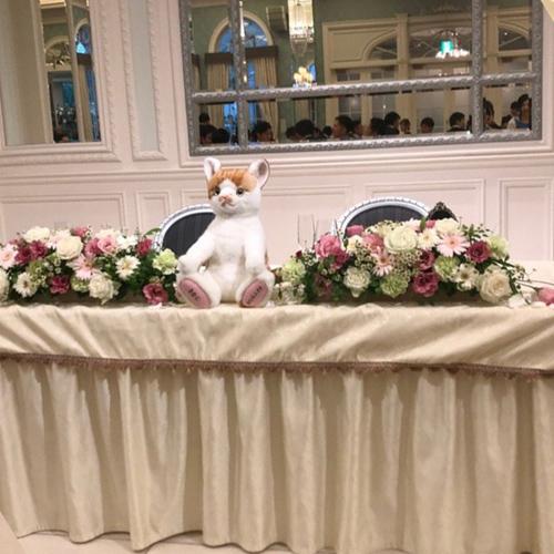 結婚式のウェルカムドール 猫グッズ ペット