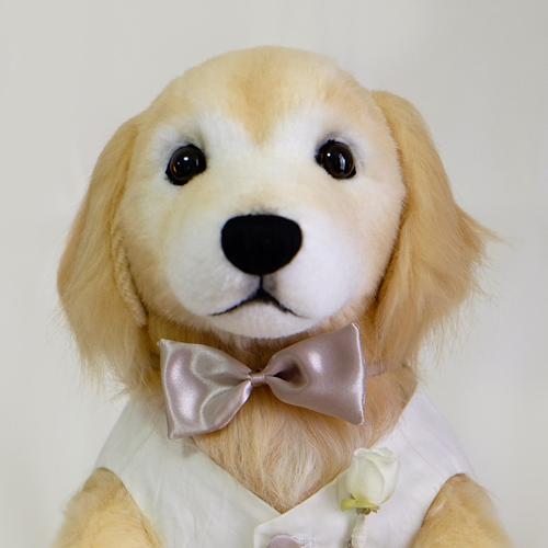 ゴールデンレトリーバー ウエイトドール 愛犬似 ぬいぐるみ
