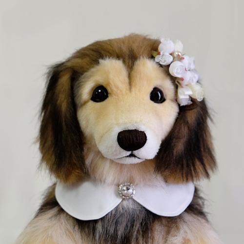 ミックス犬のウェイトドール 愛犬シェルティ ぬいぐるみオーダー