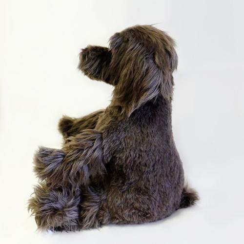ミニチュアシュナウザー 愛犬をぬいぐるみに ウェイトドッグ