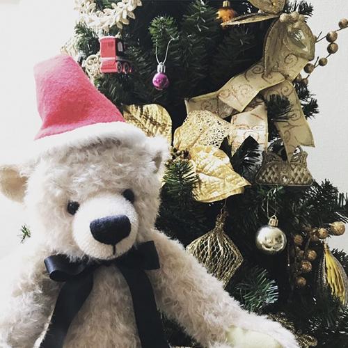テディベア メリークリスマス