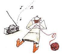 いつでもどこでもipod音楽を手放せません…!!