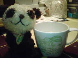 ジェフリーフルビマーリの代官山店でマグカップを買いました。